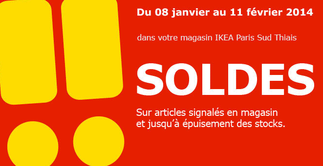 IKEA Soldes Paris Sud Thiais