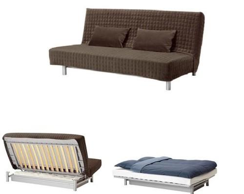 Canape Convertible 3 Places Ikea Modele Beddinge Lovas Petites
