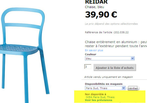 Ikea Reidar Annonces Chaises Bleues By Ikeaddict Petites 7yIf6mYbgv