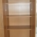 Armoire PAX imitation bois avec 3 étagères + 1 tringle