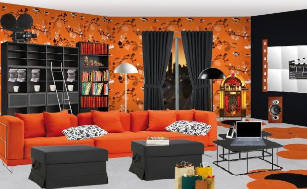 ikea moi et mon salon bravo la gagnante de d cembre ikeaddict. Black Bedroom Furniture Sets. Home Design Ideas
