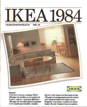 catalogue ikea 1984 188 pages de nouvelles id es en couleur ikeaddict. Black Bedroom Furniture Sets. Home Design Ideas