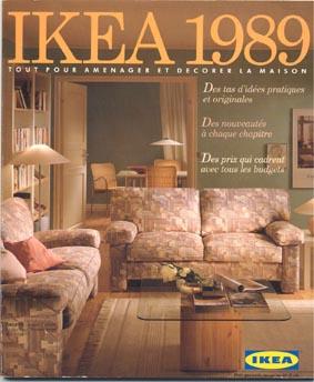 catalogue ikea 1989 tout pour am nager et d corer la maison ikeaddict. Black Bedroom Furniture Sets. Home Design Ideas