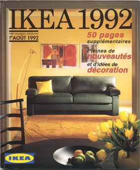 catalogue ikea 1992 ikeaddict. Black Bedroom Furniture Sets. Home Design Ideas