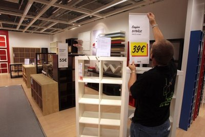 le i day ouverture de ikea reims thillois et ikea. Black Bedroom Furniture Sets. Home Design Ideas