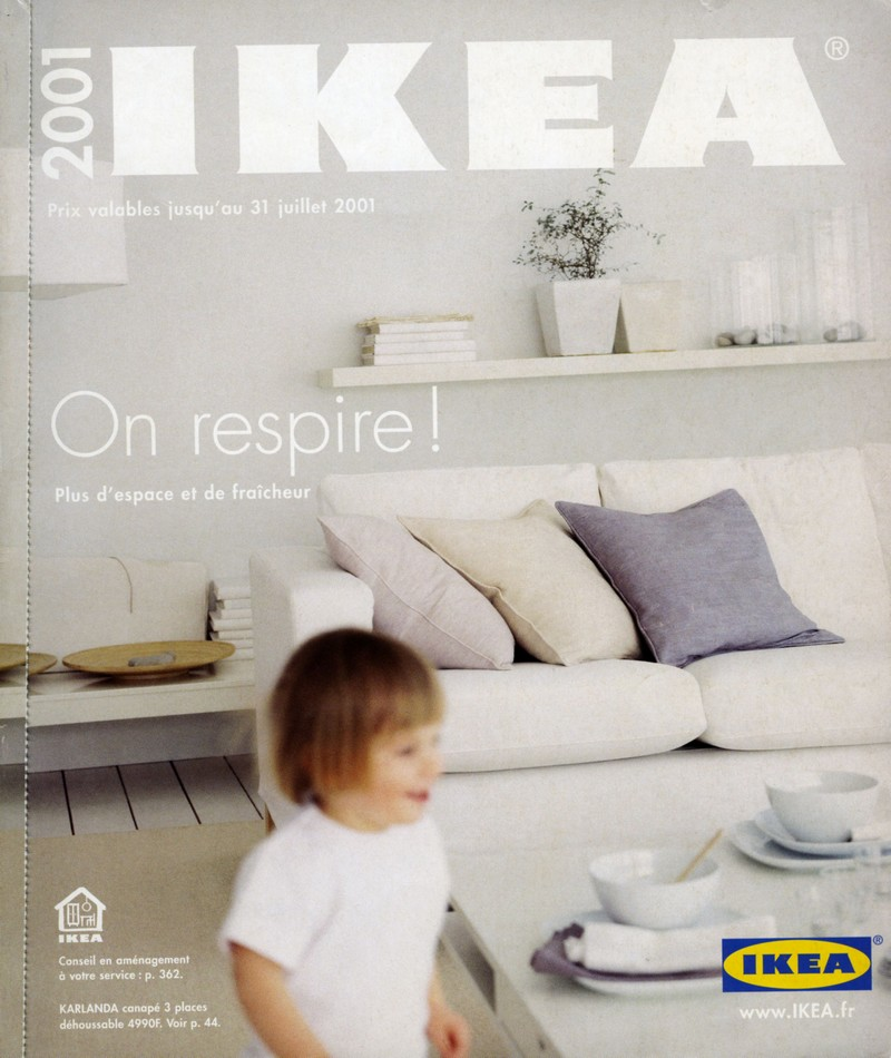 catalogue ikea 2001 on respire ikeaddict. Black Bedroom Furniture Sets. Home Design Ideas