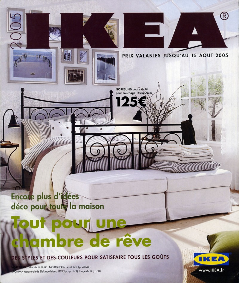 catalogue ikea 2005 tout pour une chambre de r ve ikeaddict. Black Bedroom Furniture Sets. Home Design Ideas