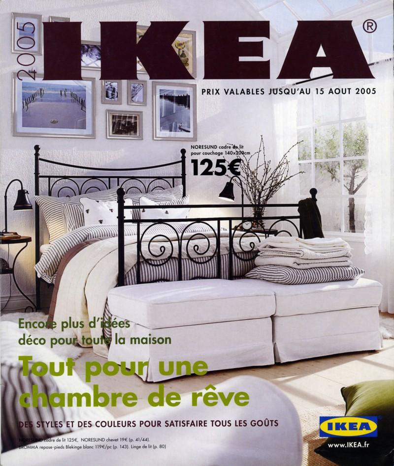 Catalogue ikea 2005 tout pour une chambre de r ve for Catalogue chambre