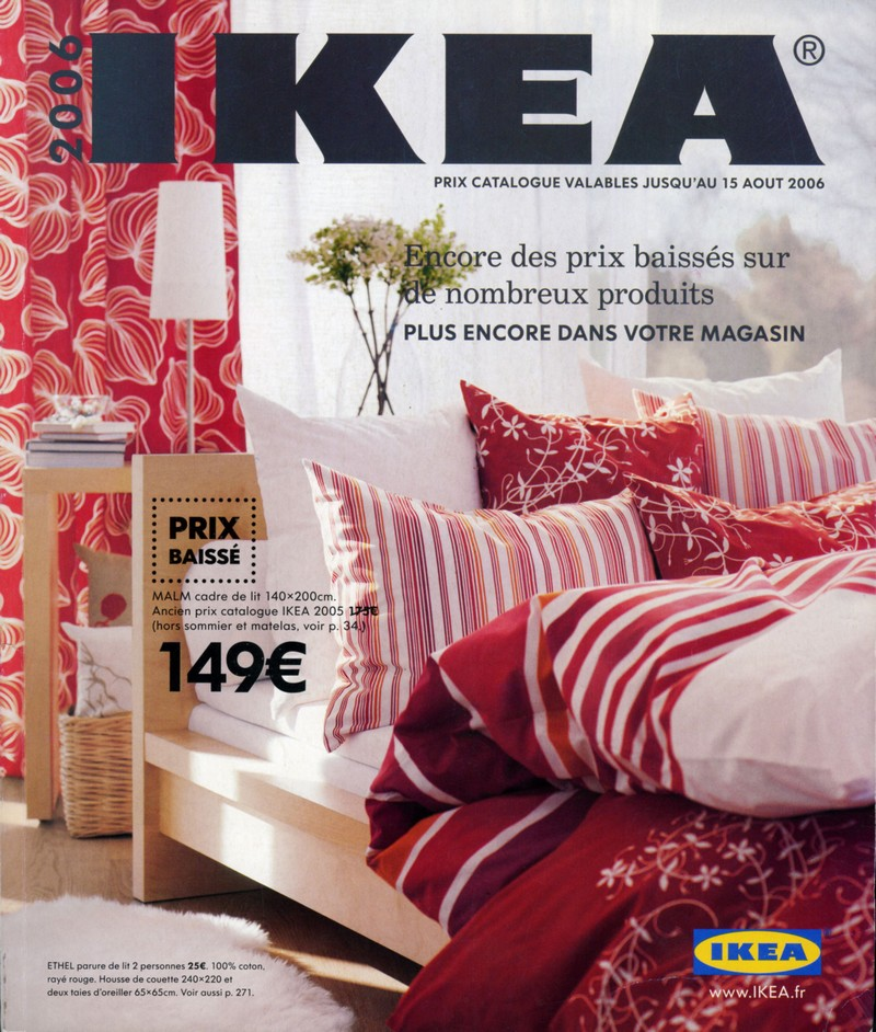 catalogue ikea 2006 des prix baiss s sur de nombreux produits ikeaddict. Black Bedroom Furniture Sets. Home Design Ideas