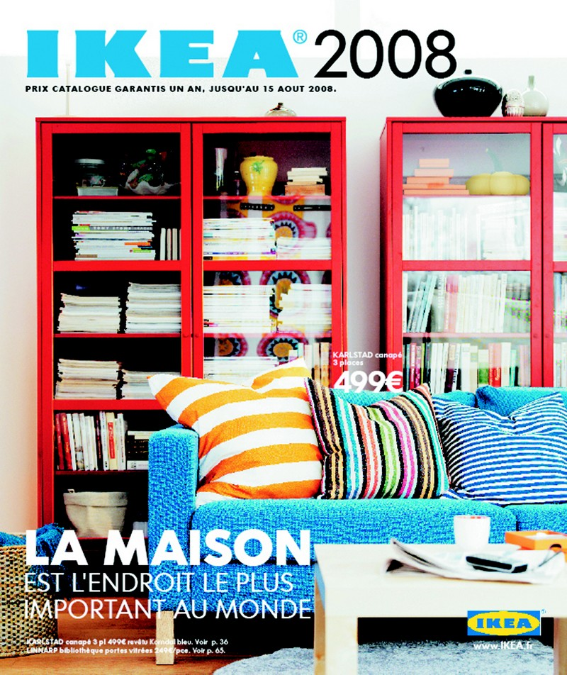 catalogue ikea 2008 la maison est l 39 endroit le plus important au monde ikeaddict. Black Bedroom Furniture Sets. Home Design Ideas