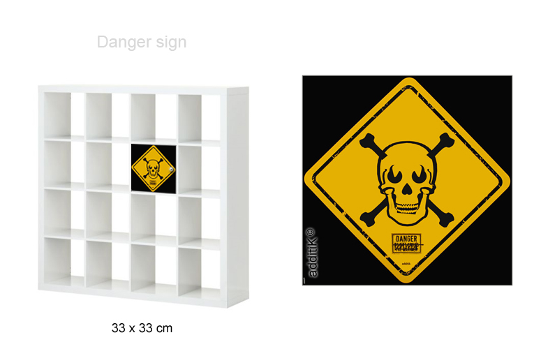 des stickers attention danger pour vos tables ikea ikeaddict. Black Bedroom Furniture Sets. Home Design Ideas