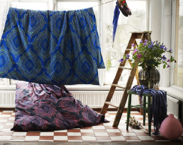 ikea lance une collection limit e de textiles n tvide ikeaddict. Black Bedroom Furniture Sets. Home Design Ideas