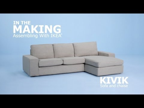 instructions de montage vid o canap kivik ikeaddict. Black Bedroom Furniture Sets. Home Design Ideas