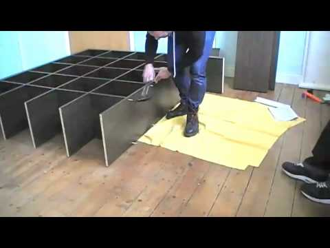 instructions de montage vid o biblioth que ikea expedit ikeaddict. Black Bedroom Furniture Sets. Home Design Ideas