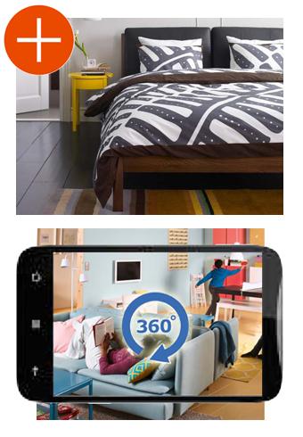 le catalogue ikea 2014 en r alit augment e ikeaddict. Black Bedroom Furniture Sets. Home Design Ideas
