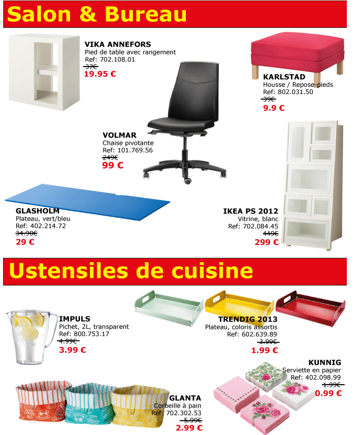 soldes ikea rouen tourville la rivi re ikeaddict. Black Bedroom Furniture Sets. Home Design Ideas