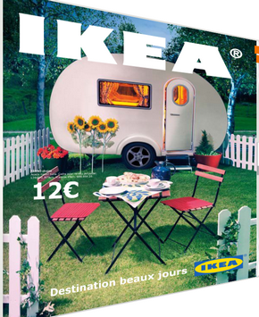 nouvelle brochure ikea destination beaux jours en ligne ikeaddict. Black Bedroom Furniture Sets. Home Design Ideas