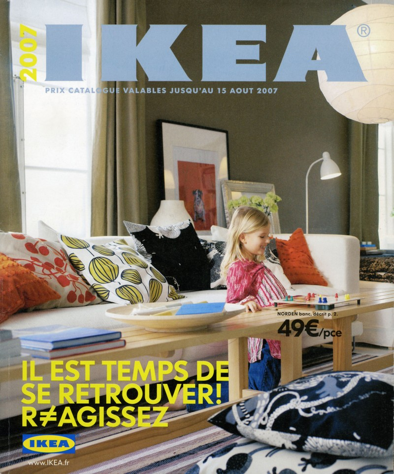 Le catalogue ikea travers les ann es archives ikeaddict - Ikea paris catalogue ...