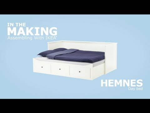 instructions de montage vid o ikea hemnes lit ikeaddict. Black Bedroom Furniture Sets. Home Design Ideas