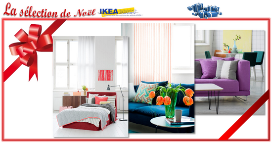 id es cadeaux ikea pour no l tissus housses et rideaux coordonn s bemz ikeaddict. Black Bedroom Furniture Sets. Home Design Ideas