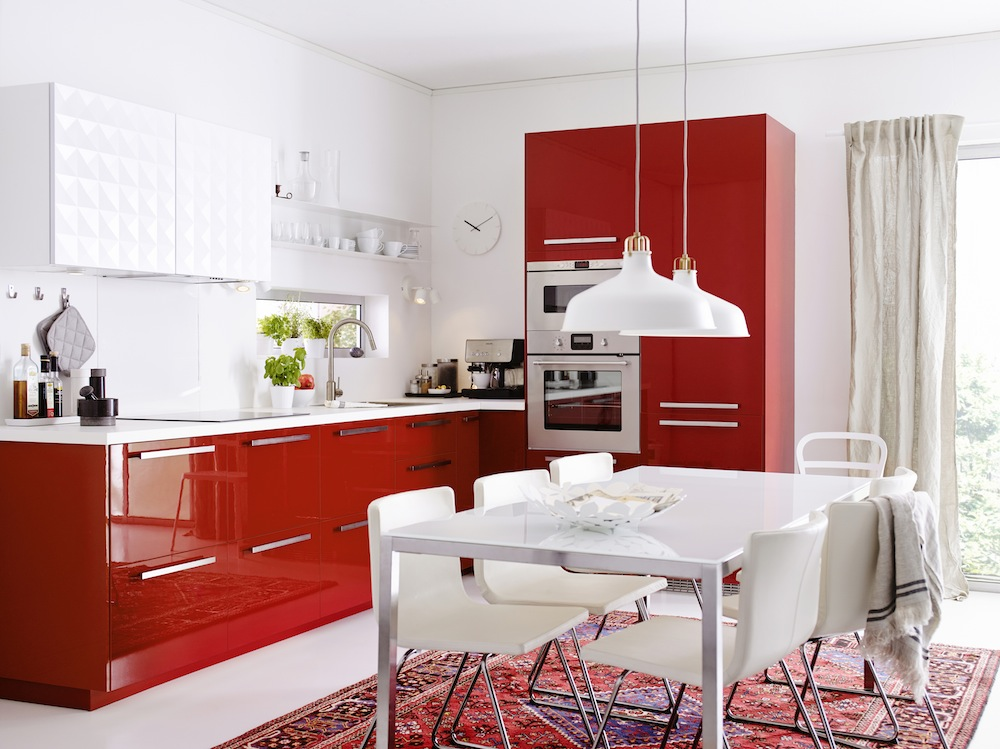IKEA METOD RINGHULT rouge - IKEADDICT