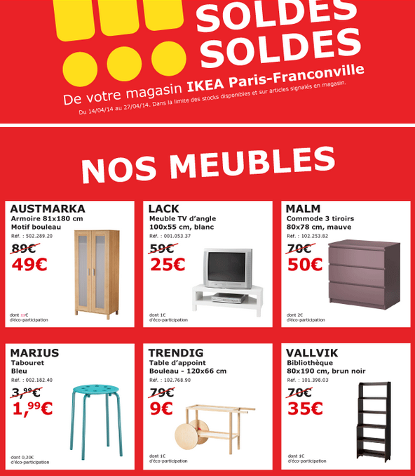 Soldes Ikea