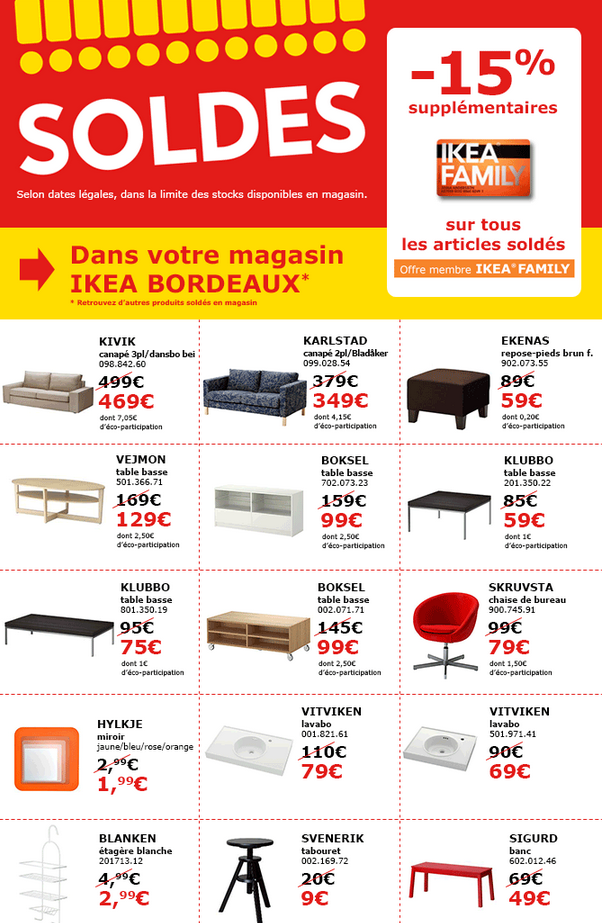 soldes chez ikea jusqu 39 au 27 avril ikeaddict. Black Bedroom Furniture Sets. Home Design Ideas