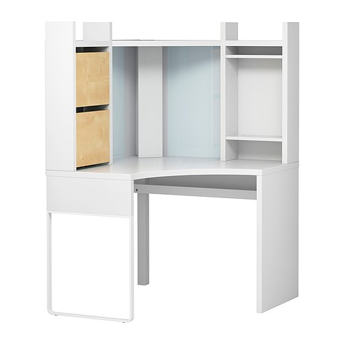 micke bureau d 39 angle blanc bouleau petites annonces ikea by ikeaddict. Black Bedroom Furniture Sets. Home Design Ideas