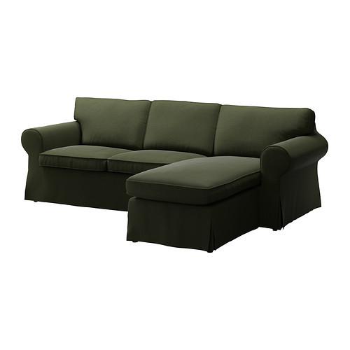 housse canap 2pl meridienne ektorp petites annonces. Black Bedroom Furniture Sets. Home Design Ideas
